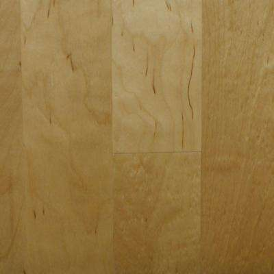 Take Home Sample - Birch Natural Engineered Click Hardwood Flooring - 5 in. x 7 in.