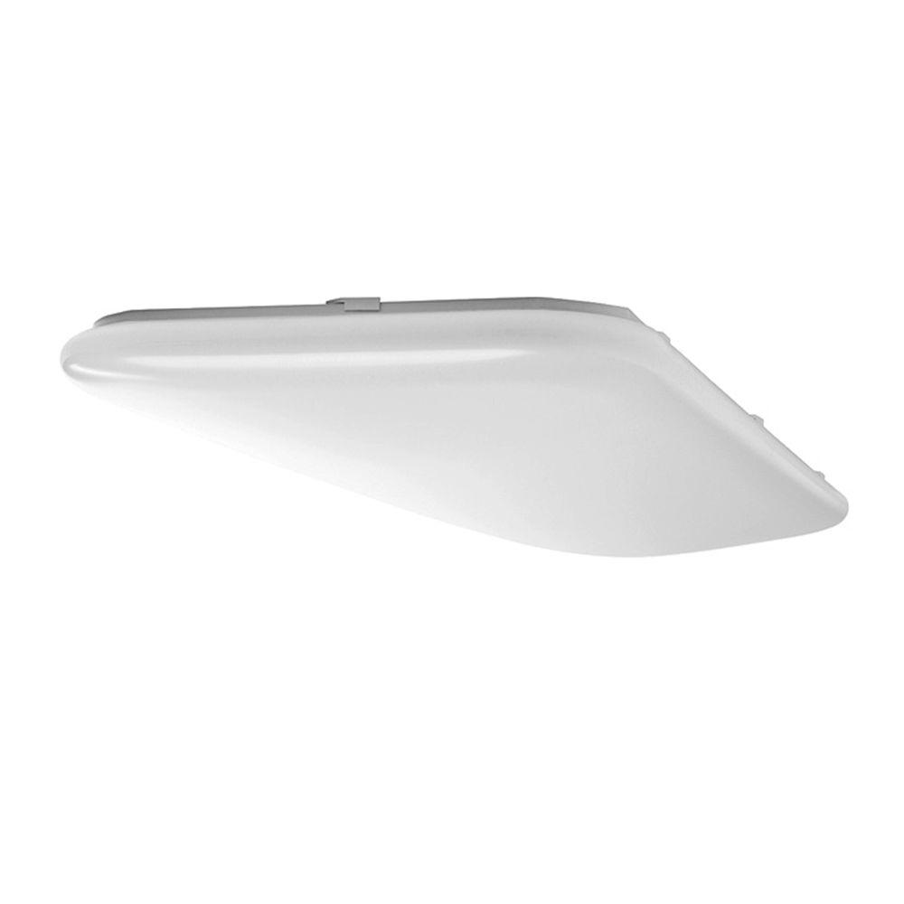 Bright/Cool White Rectangular LED Flushmount