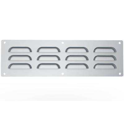 15 in. x 0.125 in. x 4.5 in. Stainless Steel Venting Panel