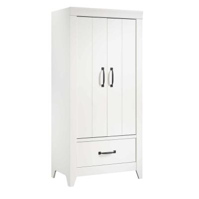 Adept Soft White Wardrobe Storage Cabinet