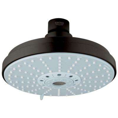 Rainshower 4-Spray 6 1/4 in. Fixed Shower Head in Oil Rubbed Bronze