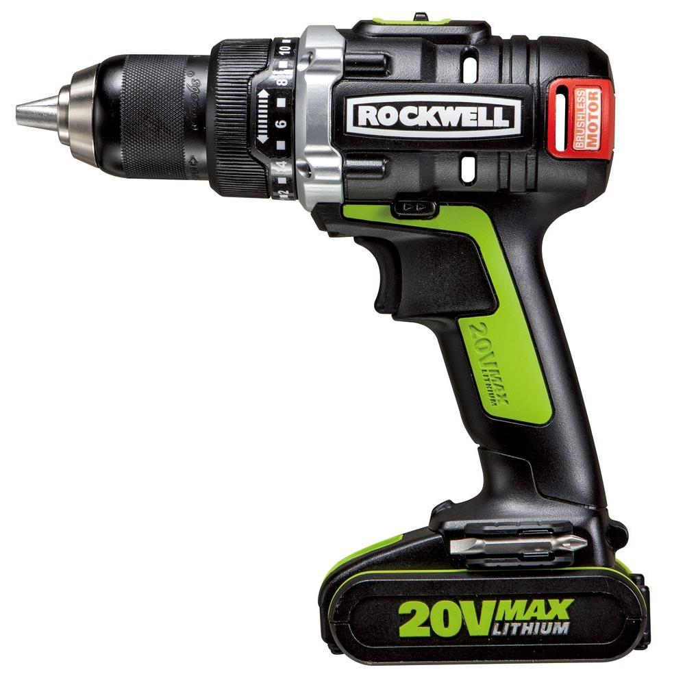 Rockwell 20-Volt Lithium-Ion Brushless Drill/Driver