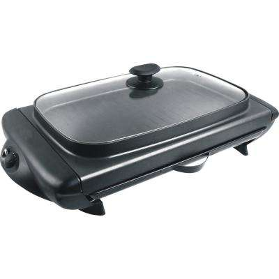 Indoor Electric Griddle in Black