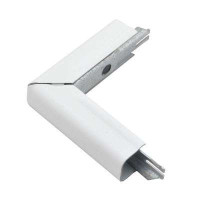 700 Series Metal Surface Raceway Outside Elbow, White