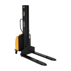 Vestil 118 inch Narrow Mast Stacker with Power Lift and Fixed Forks by Vestil