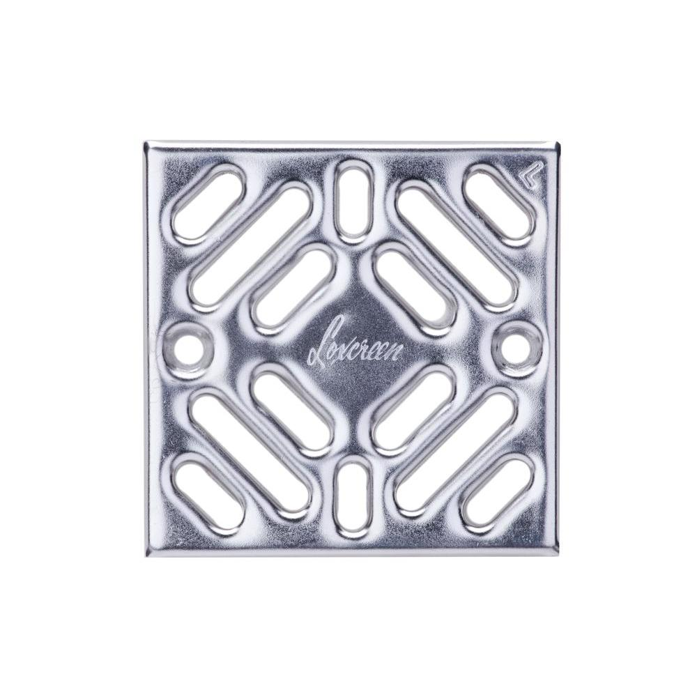 Us trench drain easy drain series 54 in w x 54 in d 394 in prova drain stainless steel accessory grate nvjuhfo Gallery