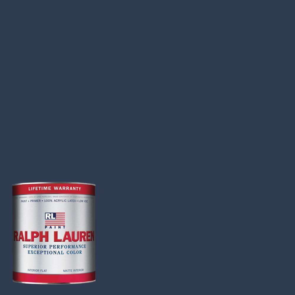 Ralph Lauren 1-qt. Club Navy Flat Interior Paint
