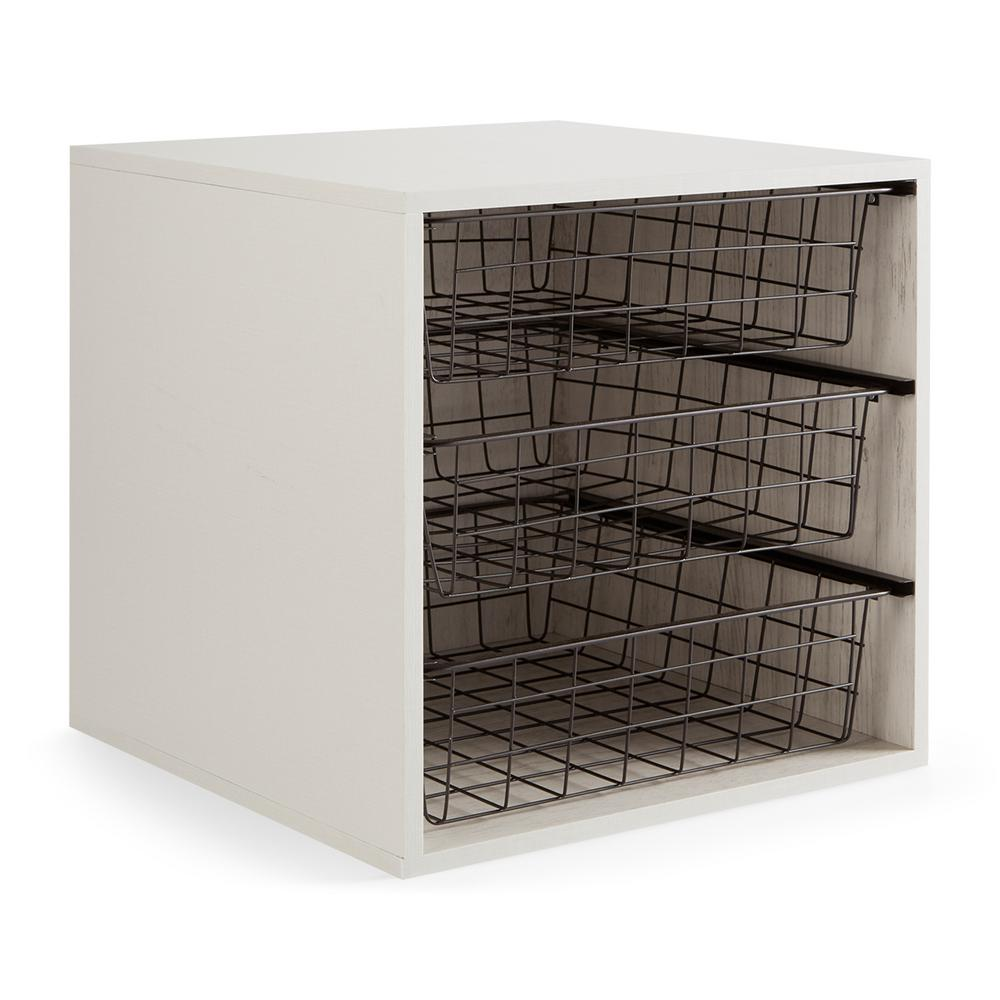 Order Home Collection 16 In. X 16 In. Order 3 Cube Organizer