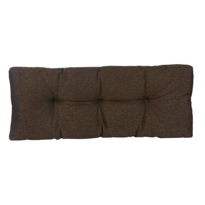 The Gripper Tufted 36 in. Omega Chestnut Universal Bench Cushion