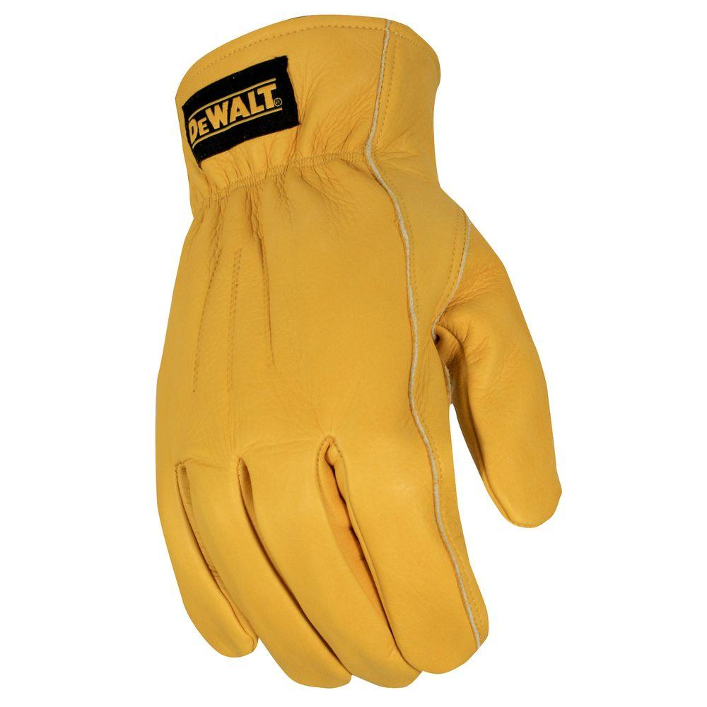 DEWALT Thermal Insulated Leather Driver Size Large Glove