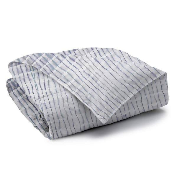 A1 Home Collections Echelon Reversible Print 100% Organic Cotton Wrinkle Resistant Duvet Set and Insert