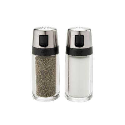 Good Grips Salt and Pepper Shaker Set with Pour Spout