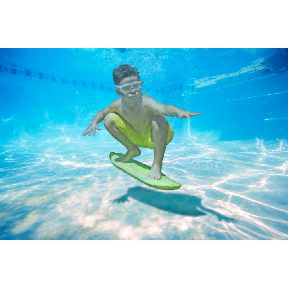 Poolmaster Underwater Surf Board In Green 05163 The Home
