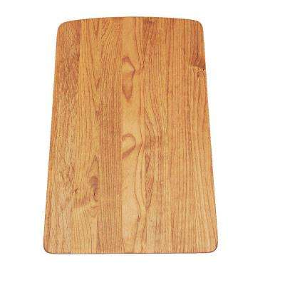 Wood Cutting Board for Diamond Single Bowl Kitchen Sink