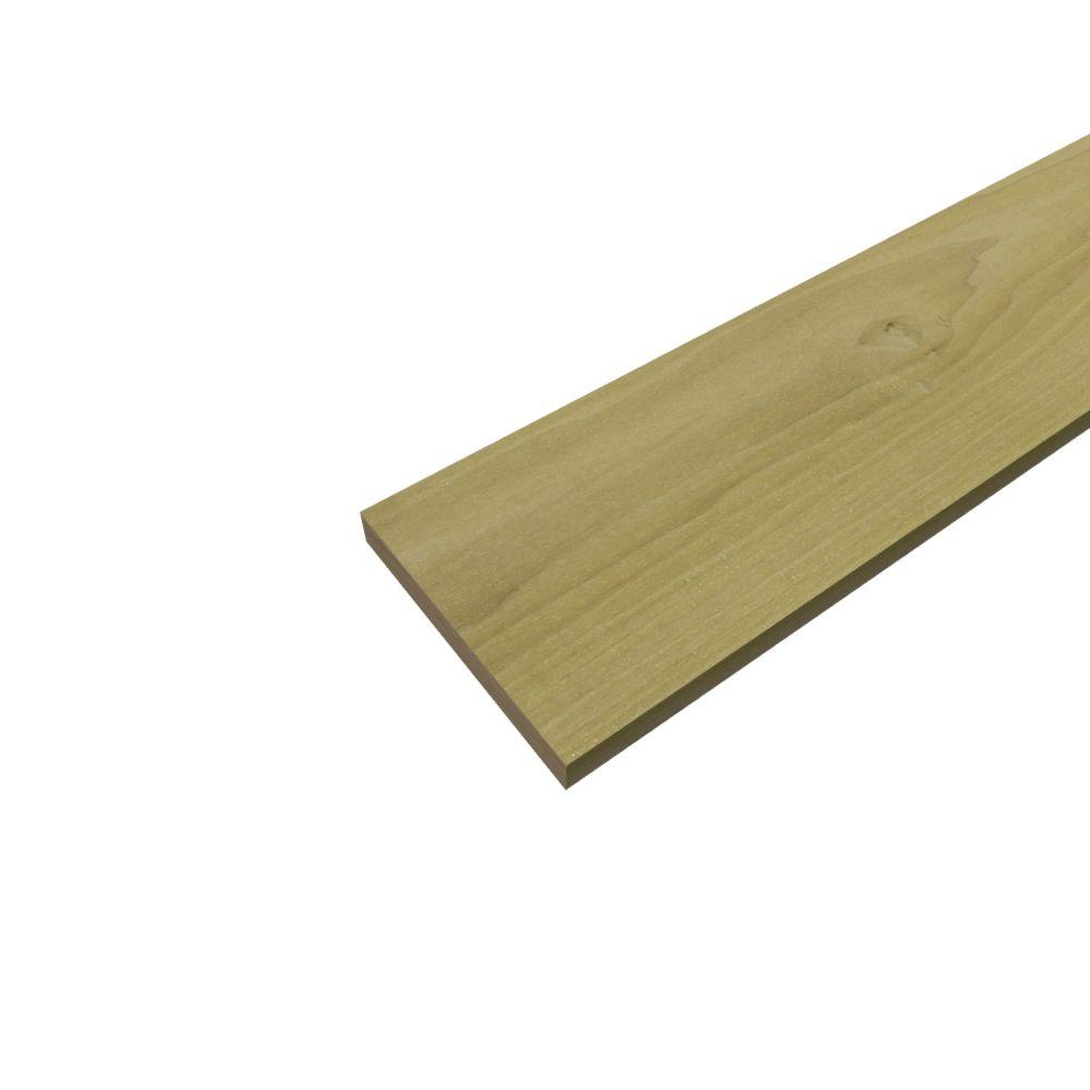 1-1/4 in. x 8 in. x 8 ft. S4S Poplar Board