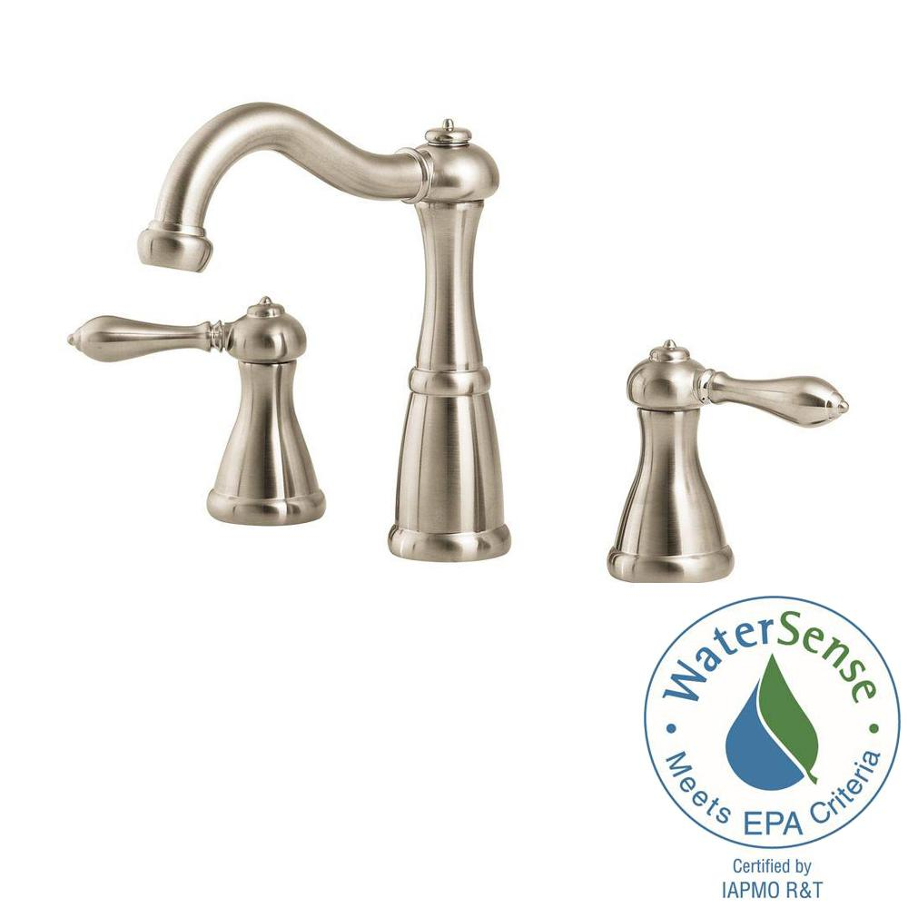 Pfister Marielle 8 In Widespread 2 Handle Bathroom Faucet In