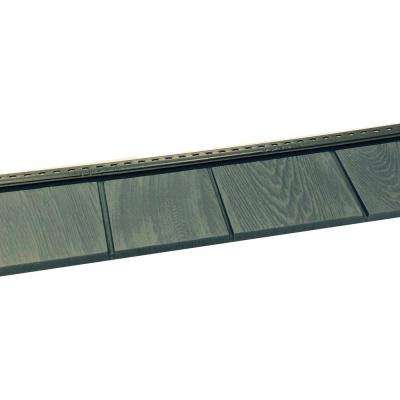 6-1/2 in. x 60-1/2 in. Lakeside Blue Engineered Rigid PVC Shingle Panel 5 in. Exposure (24 per Box)