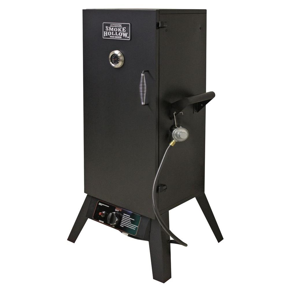 Smoke Hollow 34 in. Vertical Propane Gas Smoker