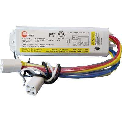 FC8T9/T5 and FC12T9/T5 120-Volt 6.63 in. Electronic Ballast 2 Lamp