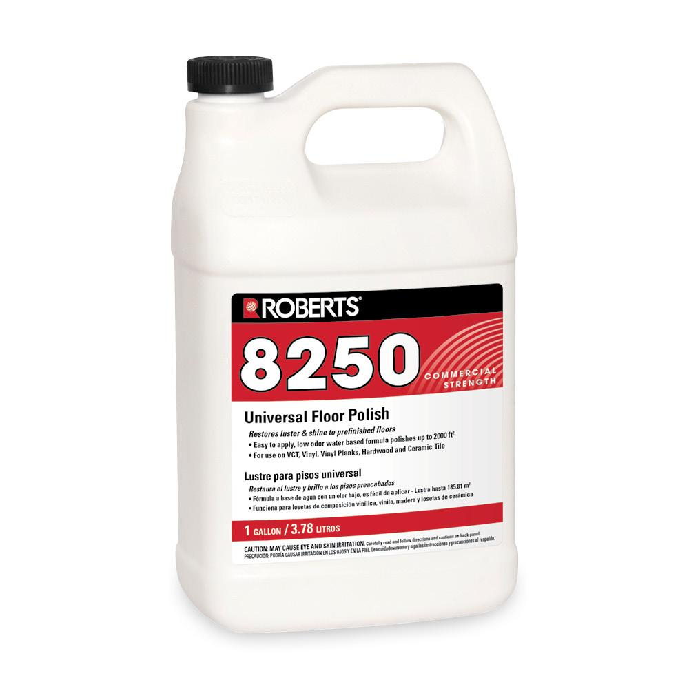 Roberts 1 gal universal floor polish r8250 1 the home depot roberts 1 gal universal floor polish dailygadgetfo Gallery