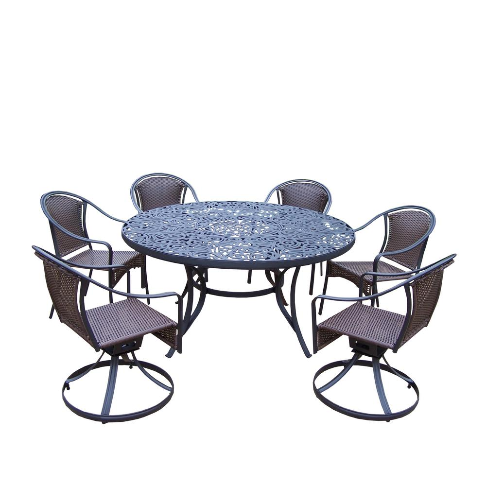 7-Piece Aluminum Outdoor Dining Set
