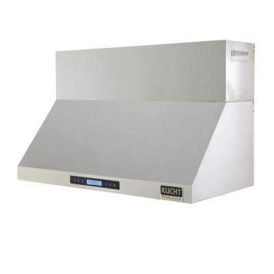 Professional 48 in. Wall Mounted Range Hood 1,200 CFM in Stainless Steel