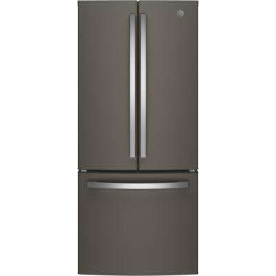 20.8 cu. ft. French Door Refrigerator in Slate, Fingerprint Resistant and ENERGY STAR