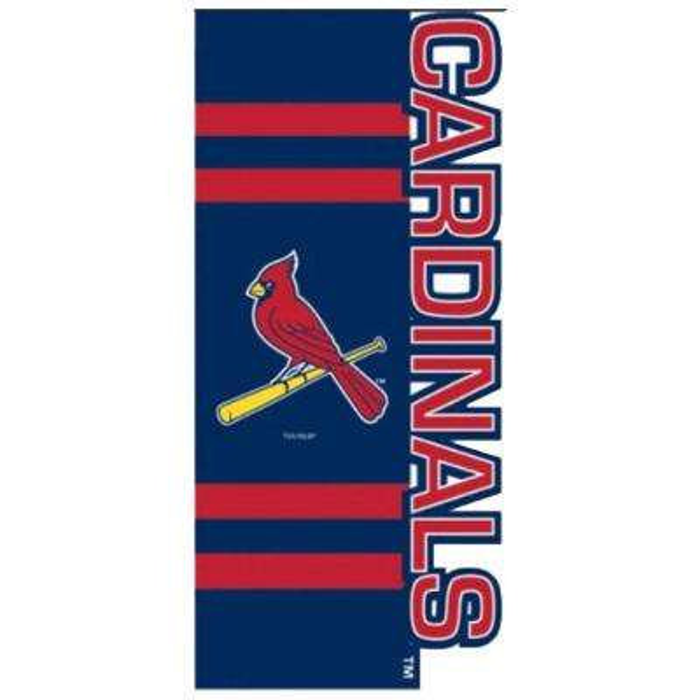 MLB 1 ft. x 1-1/2 ft. Nylon St. Louis Cardinals Sculpted Garden Flag
