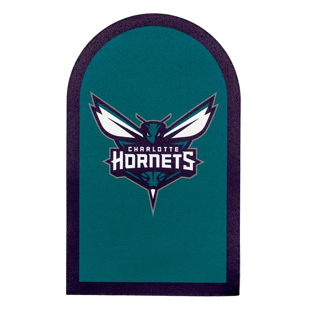 NBA Charlotte Hornets Mailbox Door Logo Graphic