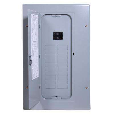 PowerMark Gold 100 Amp 20-Space 20-Circuit Indoor Main Breaker Circuit Breaker Panel