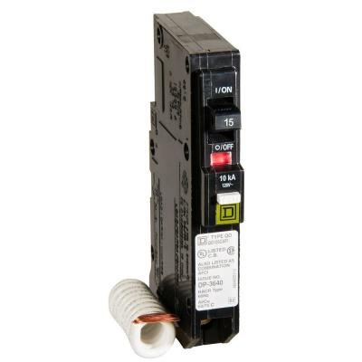 QO 15 Amp Single-Pole Combination Arc Fault Circuit Breaker (6-Pack)