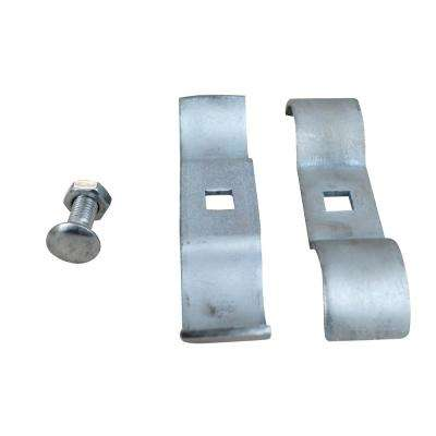 Connectors for Galvanized Construction Barrier Systems 5-1/4 in. x 1-1/8 in.