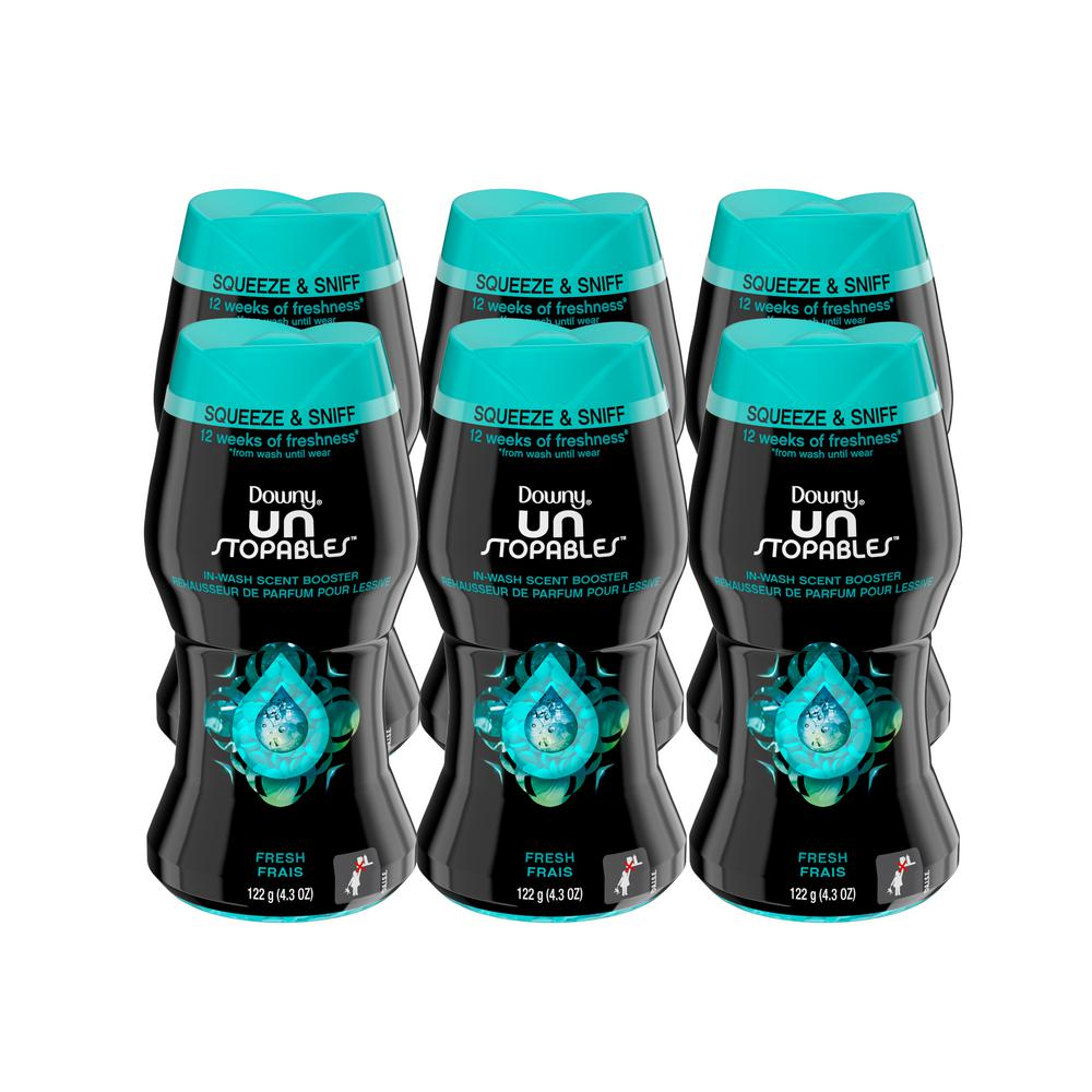 Downy 4 3 Oz Unstoppables Fresh In Wash Scent Booster Beads 6