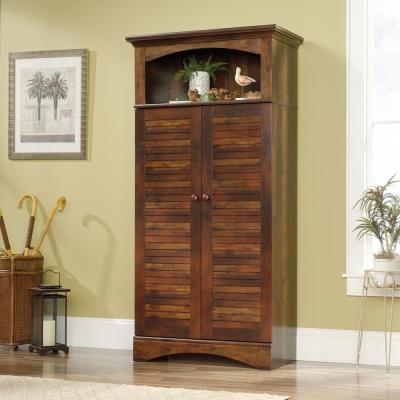 Harbor View Curado Cherry Storage Cabinet