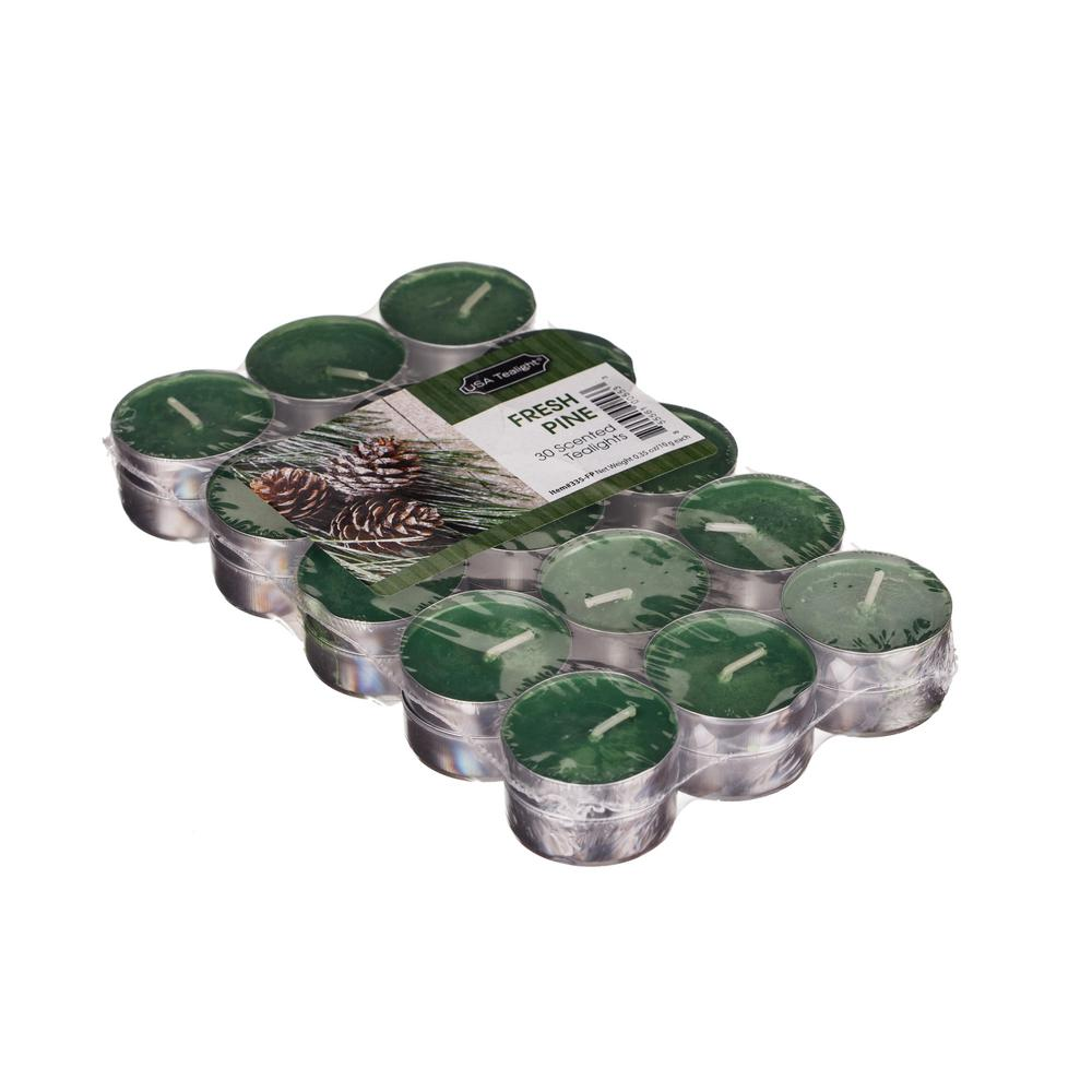 Fresh Pine Tealight Candles (Set of 60)