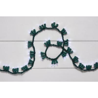 9 ft. 150-Light LED multicolored Garland Lights with Dual Functions