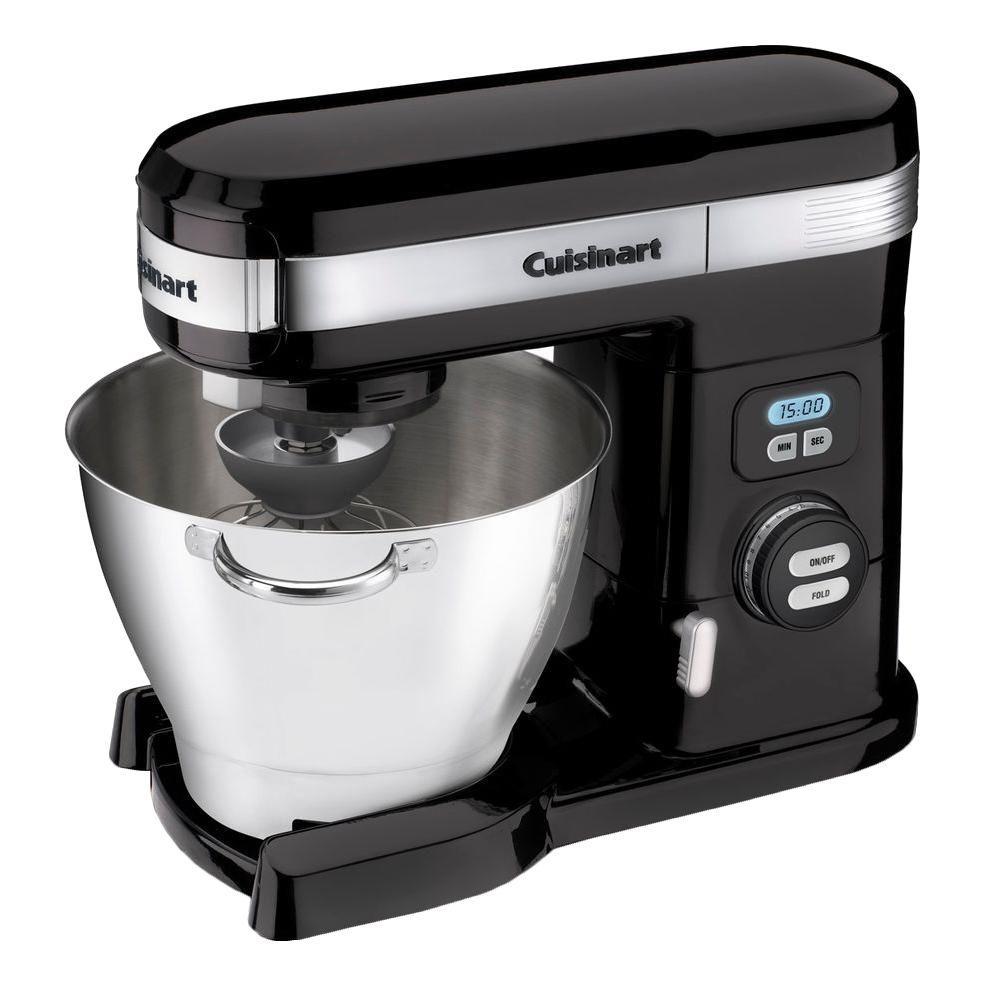 Cuisinart 5.5 Qt. 12-Speed Black Stand Mixer by Cuisinart