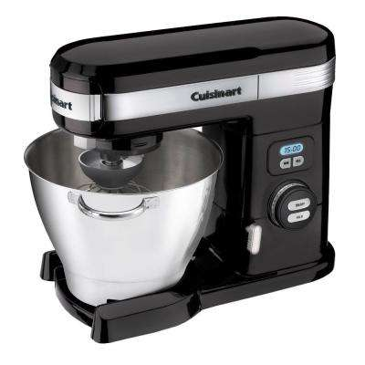 5.5 Qt. 12-Speed Black Stand Mixer