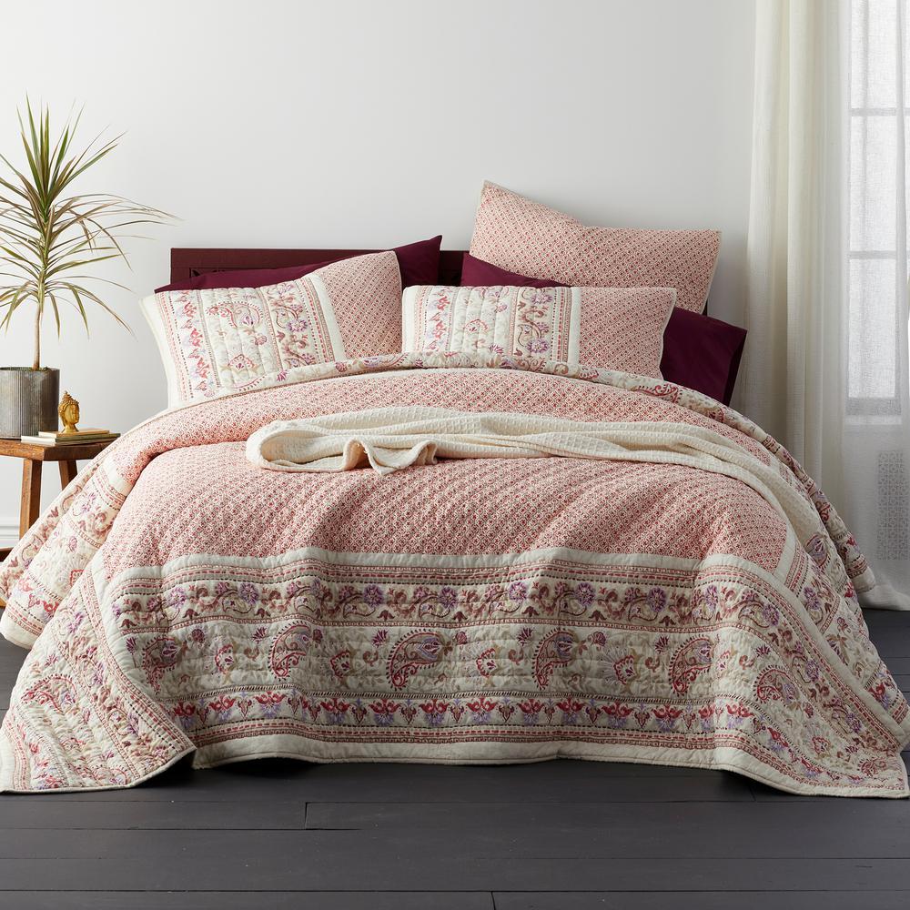Neera Cotton Patchwork Full/Queen Quilt