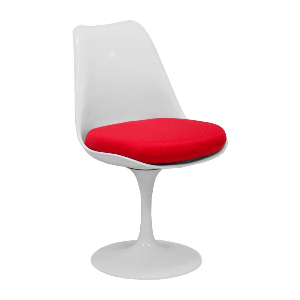 Incredible Lily Modern Red Dining Side Chair Beatyapartments Chair Design Images Beatyapartmentscom