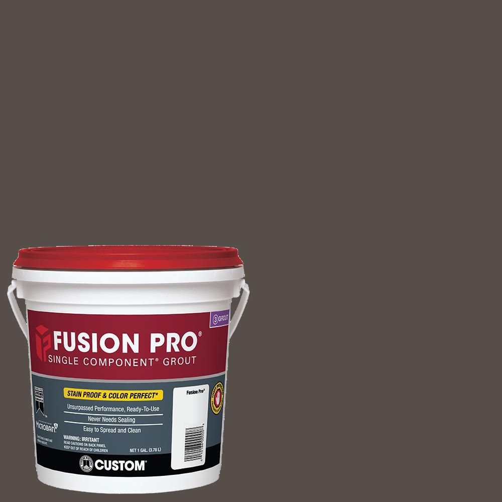 custom building products fusion pro 540 truffle 1 gal single component grout fp5401 2t the. Black Bedroom Furniture Sets. Home Design Ideas