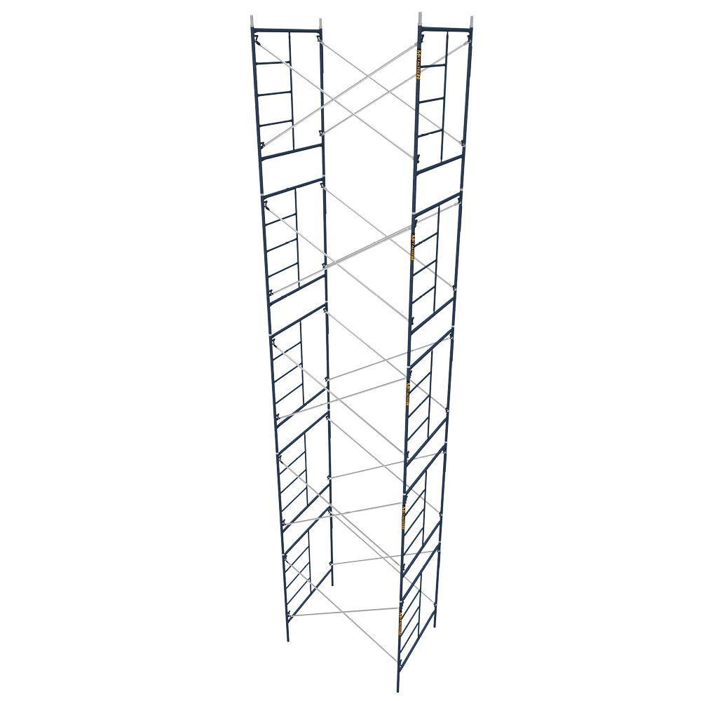 MetalTech Saferstack 5 ft. x 7 ft. x 6.4 ft. Mason Scaffold (Set of 5) by MetalTech