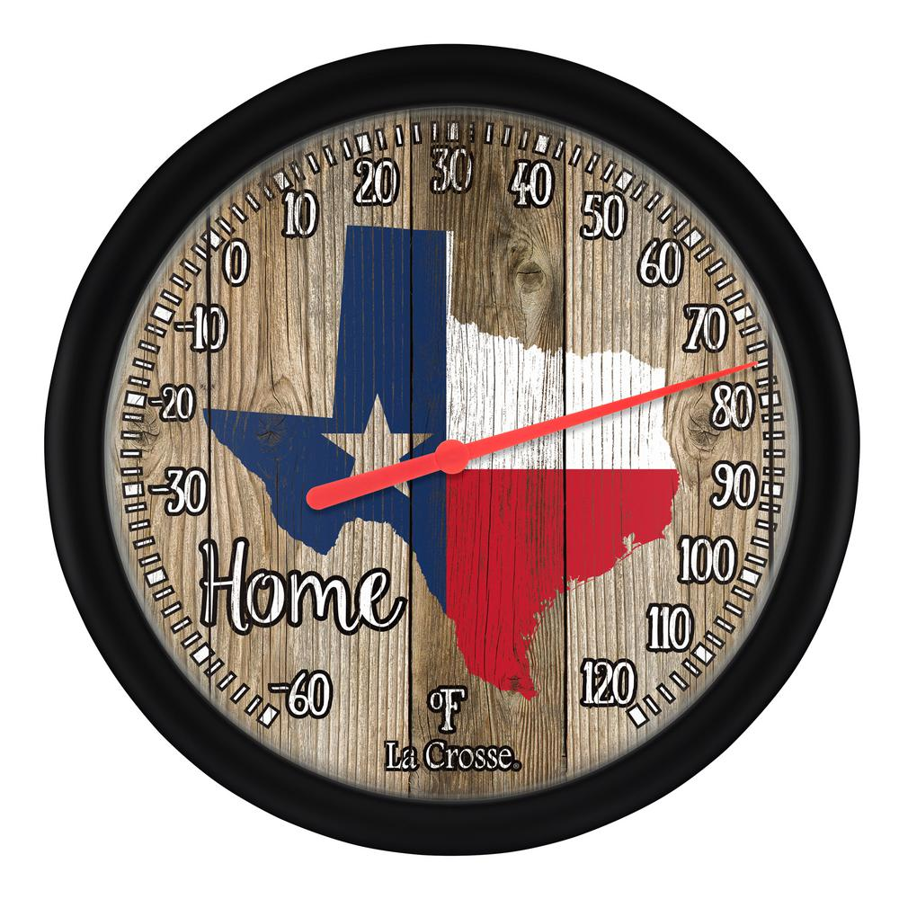 Lacrosse Lacrosse 12 in. Dial Thermometer Texas, Multi