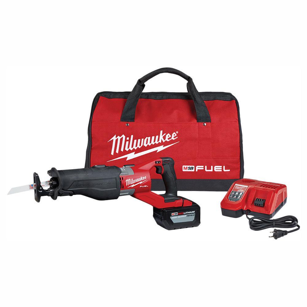 Deals on Milwaukee M18 Fuel Super SAWZALL Kit + 3 Nitrus Carbide Blades