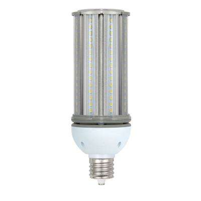 175-Watt Equivalent 45-Watt Corn Cob ED28 HID LED High Bay Bypass Light Bulb Mogul 120-277-Volt Daylight 5000K