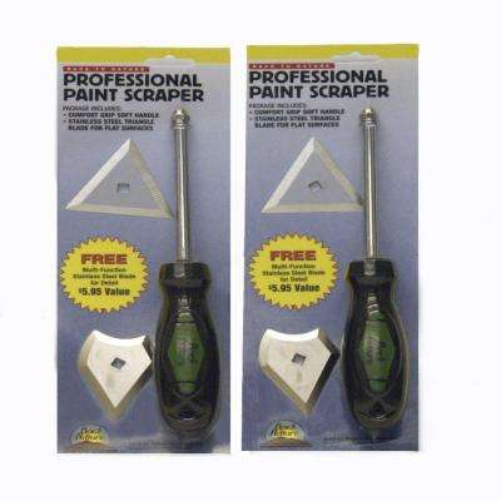 Professional Paint Scraper Kit (2-Pack)