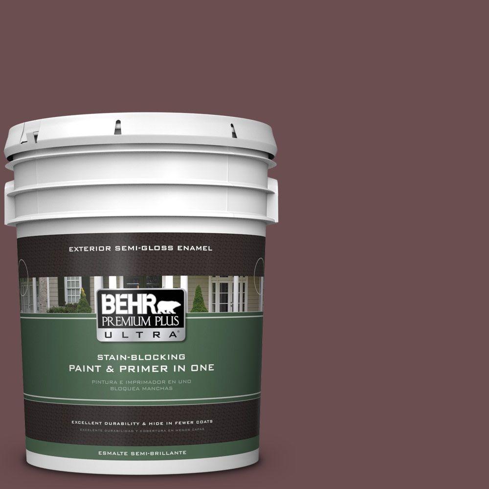 5-gal. #130F-7 Semi Sweet Semi-Gloss Enamel Exterior Paint
