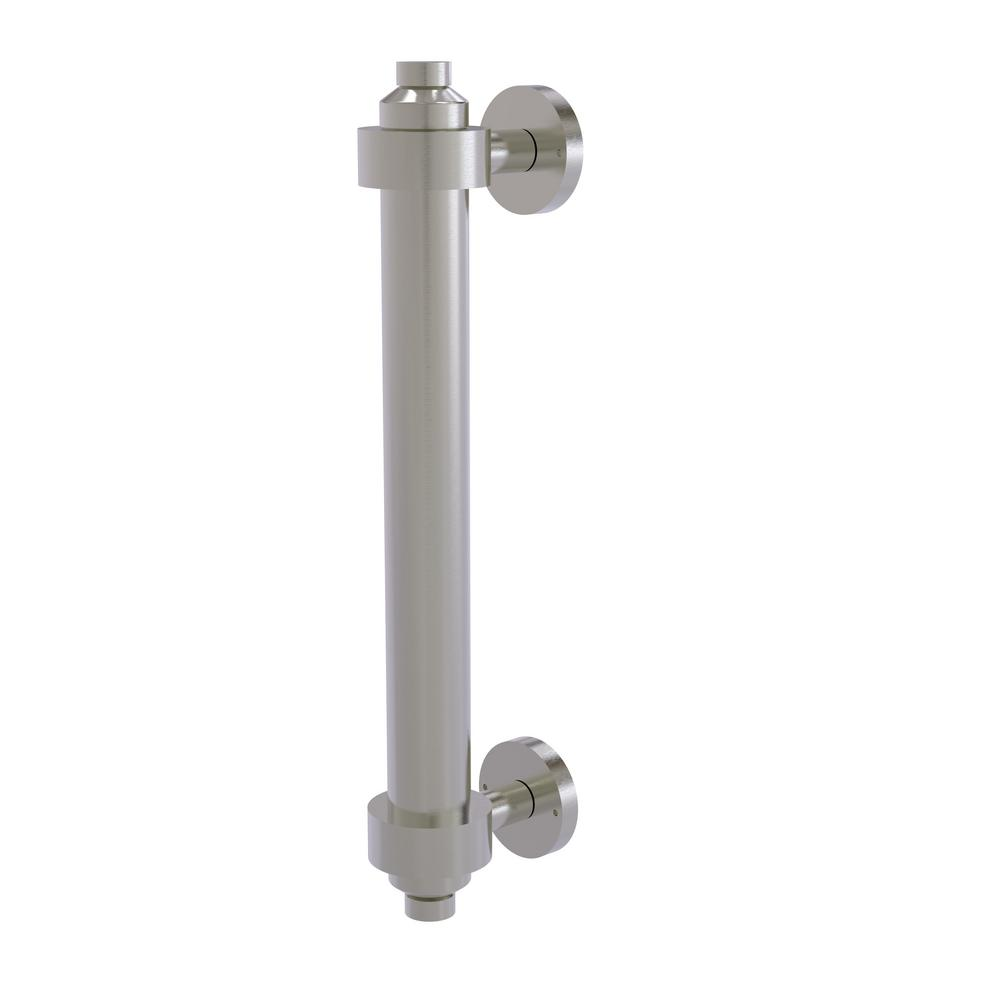 8 in. Door Pull in Satin Nickel