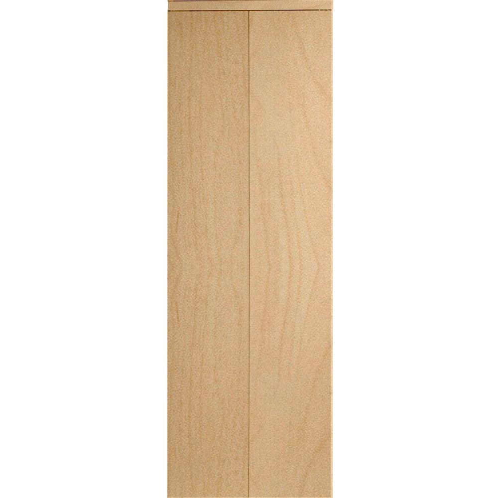 36 in. x 80 in. Smooth Flush Solid Core Stain Grade