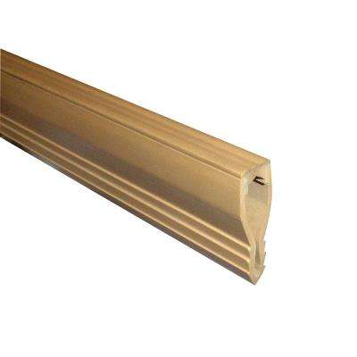 Novojunta 1 Beige 1 in. x 98-1/2 in. PVC Tile Edging Trim